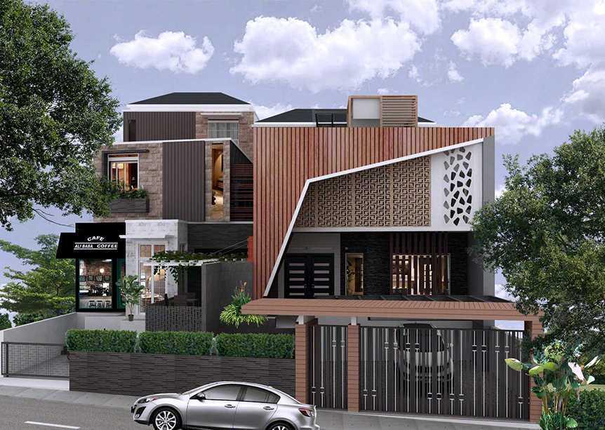Axis Citra Pama Ab House Kota Padang, Sumatera Barat, Indonesia Kota Padang, Sumatera Barat, Indonesia Front View Contemporary 49589
