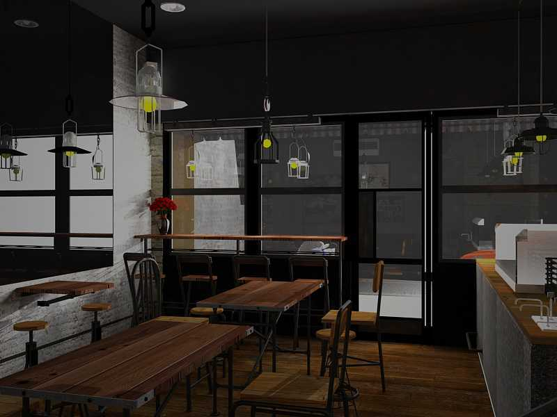 Ereck Bramoro Cafe Sandwich Malang, Indonesia Malang, Indonesia Dining Area Industrial,minimalis 18662