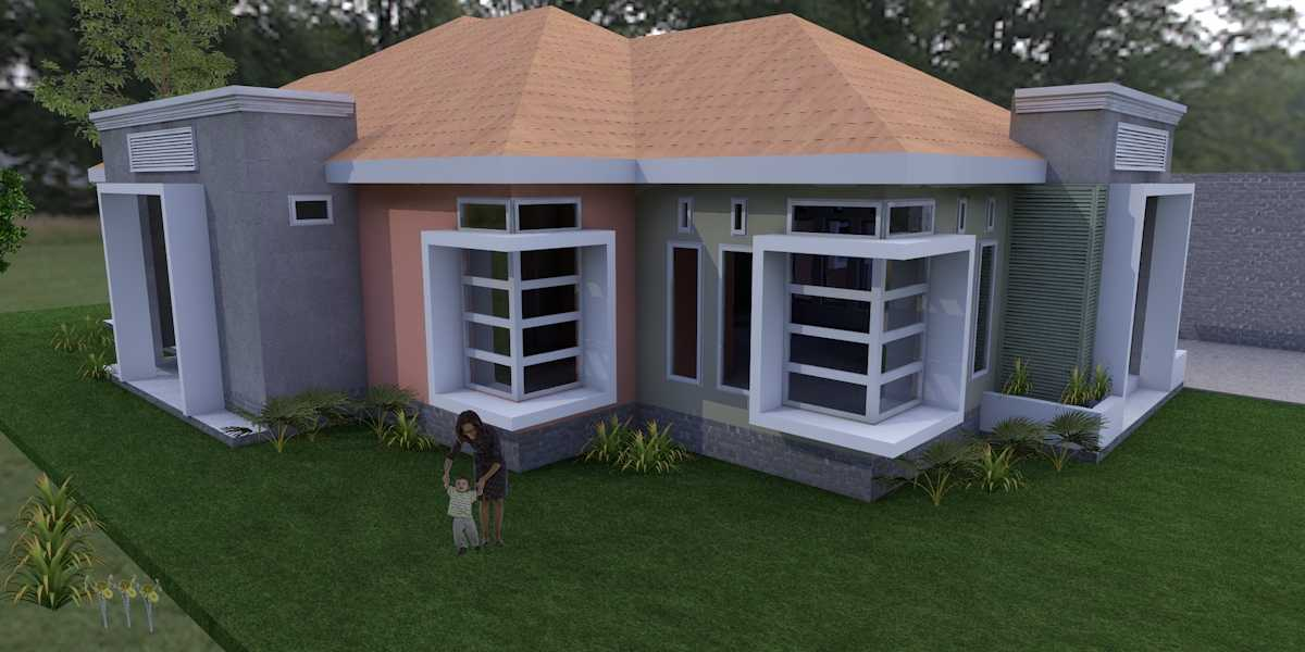 Oktavian Vicky Rantung Rumah Tinggal Tomohon Tomohon Halaman Tropis,minimalis 11543
