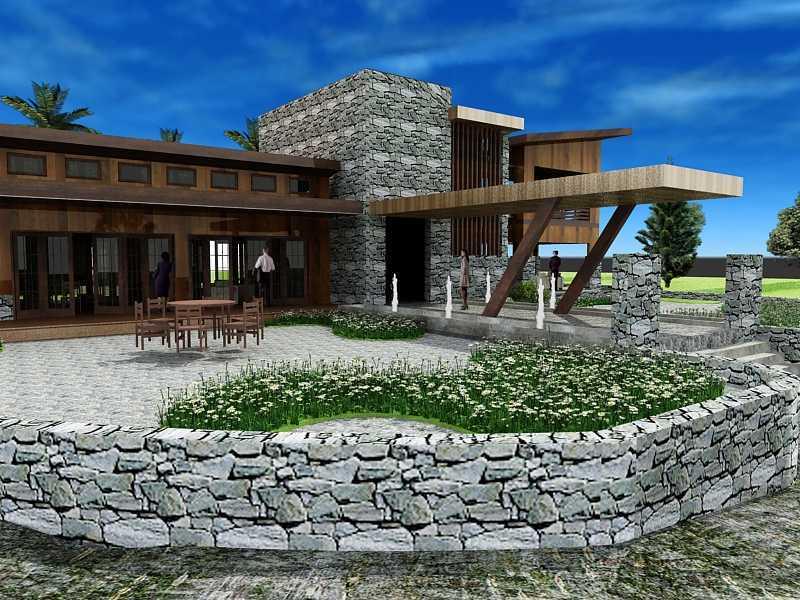 Oktavian Vicky Rantung Rumah Tinggal Modern Rustic Minahasa Utara Minahasa Utara Fd Modern 11552