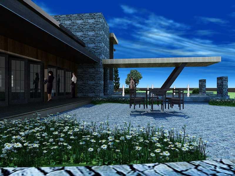 Oktavian Vicky Rantung Rumah Tinggal Modern Rustic Minahasa Utara Minahasa Utara Fgdg Modern 11553