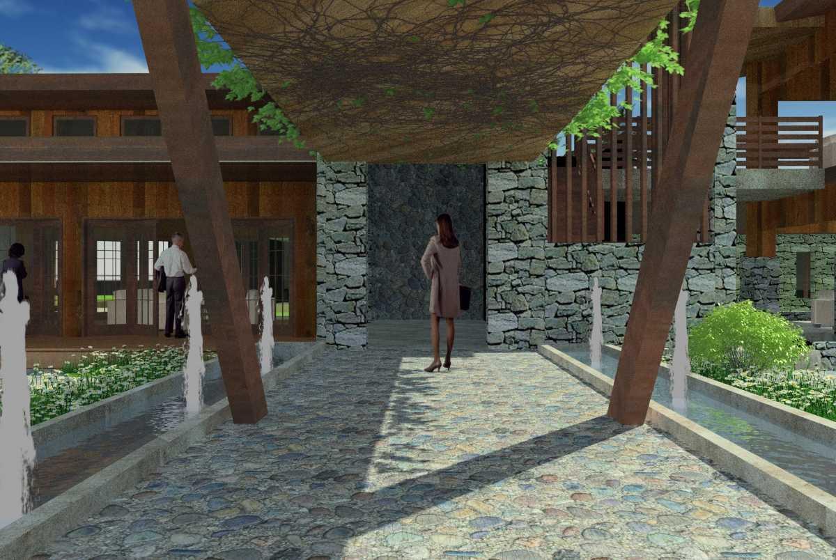 Oktavian Vicky Rantung Rumah Tinggal Modern Rustic Minahasa Utara Minahasa Utara Sa Modern 11554
