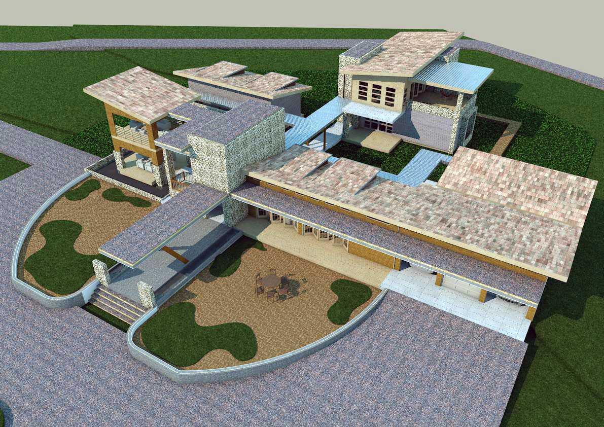 Oktavian Vicky Rantung Rumah Tinggal Modern Rustic Minahasa Utara Minahasa Utara Photo-11556 Modern 11556