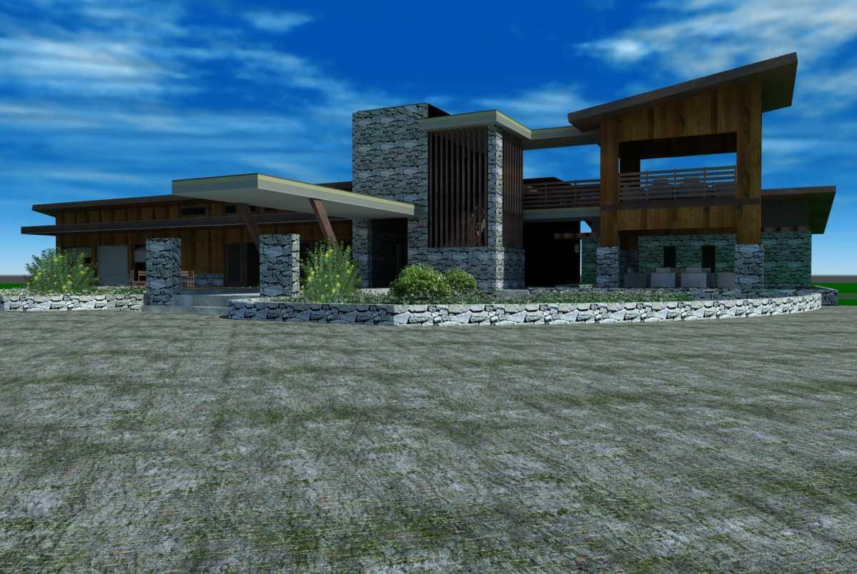 Oktavian Vicky Rantung Rumah Tinggal Modern Rustic Minahasa Utara Minahasa Utara Df Modern 11558