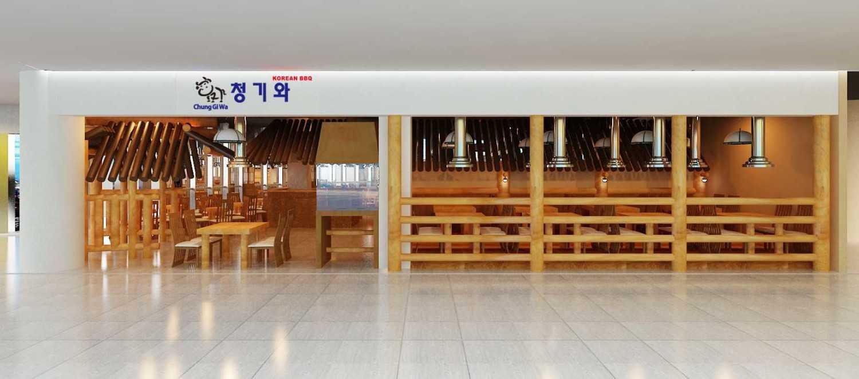 Foto inspirasi ide desain exterior asian Exterior-front view oleh Yohanes Khouw di Arsitag