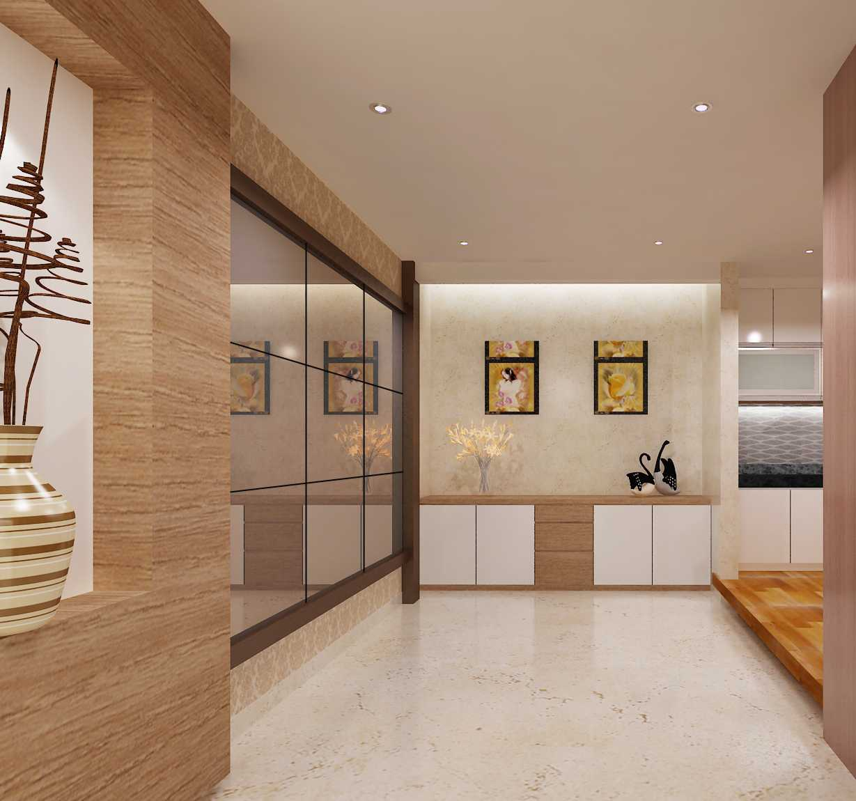 Yohanes Khouw Minimalis House At Green Mansion Jakarta Barat Jakarta Barat Ruang-Makanputih Minimalis 27662