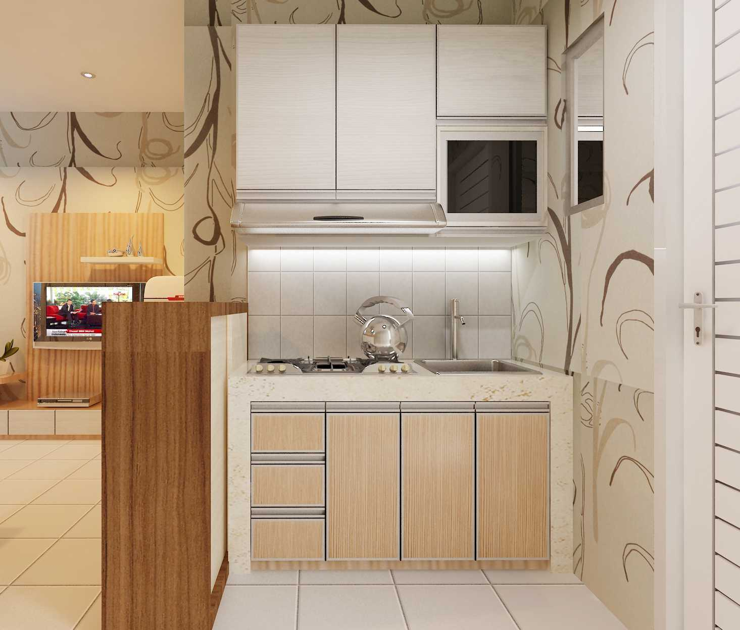 Foto inspirasi ide desain dapur minimalis Kitchenset oleh Yohanes Khouw di Arsitag