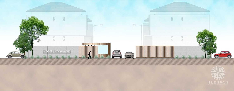 Studio Slenpan Dadali Stone Yard Jl. Dadali, Tanah Sareal, Tanah Sereal, Kota Bogor, Jawa Barat, Indonesia  06-26-2017-Gate-Iii Kontemporer 34199
