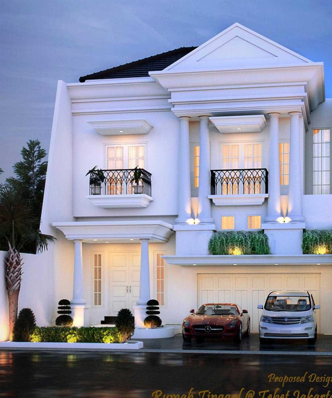 Faiz Rumah Klasik  At Tebet Tebet Jakarta Selatan  Tebet Jakarta Selatan  Front View  12121