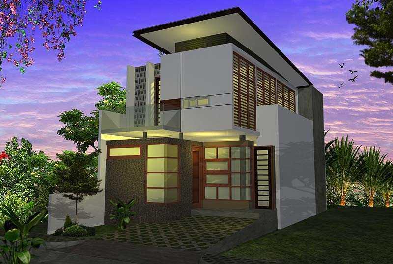 Foto inspirasi ide desain garasi modern Front view oleh faiz di Arsitag