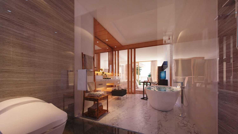 Studio Lumbung Architects Villa Kampi Sawangan Village, Kuta Selatan Sawangan Village, Kuta Selatan Bathroom  20328