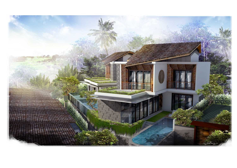 Studio Lumbung Architects Villa Kampi Sawangan Village, Kuta Selatan Sawangan Village, Kuta Selatan Villa View  20331