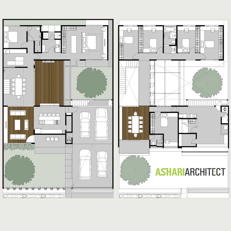 Ashari Architects Kalibata House Jakarta, Indonesia Jakarta, Indonesia Masterplan Kontemporer 11899