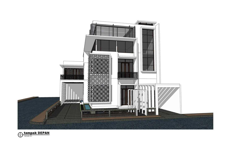 Freddy A Simamora Rumah Minimalis, Modern & Glamour Medan, Sumatera Utara Medan, Sumatera Utara Tampak-3D-Depan Minimalis,modern 16881