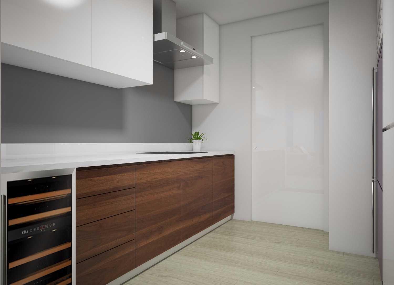 Mimo Home Interior Design & Build Private Residence Spring Hill Kemayoran, Central Jakarta City, Jakarta, Indonesia Springhill Kitchen Kontemporer,minimalis,modern 12275