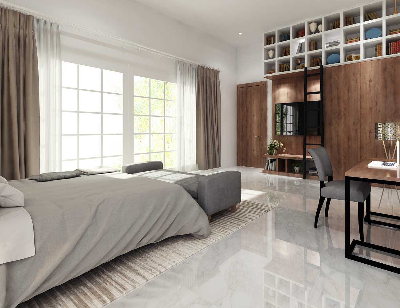 Mimo Home Interior Design & Build Private Residence - Serpong Serpong, Jakarta Serpong, Jakarta Bedroom 2  19384