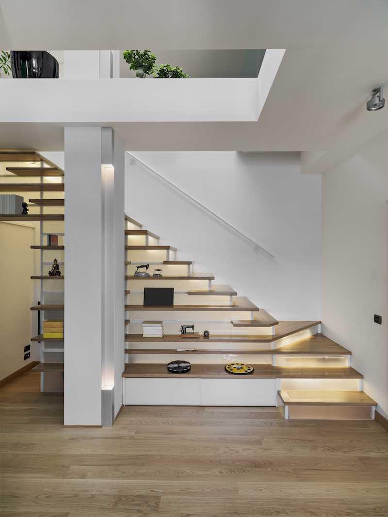 Mimo Home Interior Design & Build Private Residence - Serpong Serpong, Jakarta Serpong, Jakarta Stairs  19385