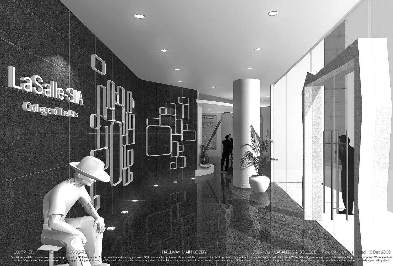 Rully Tanuwidjaja The New City Campus Lasalle-Sia Singapura Singapura Main Lobby Hallway Kontemporer 48066