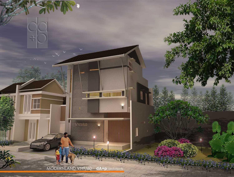 Rully Tanuwidjaja Architecture Terrace House At Modern Land Klp. Indah, Kec. Tangerang, Kota Tangerang, Banten 15117, Indonesia Klp. Indah, Kec. Tangerang, Kota Tangerang, Banten 15117, Indonesia Exterior_Perspective Image Kontemporer 48411
