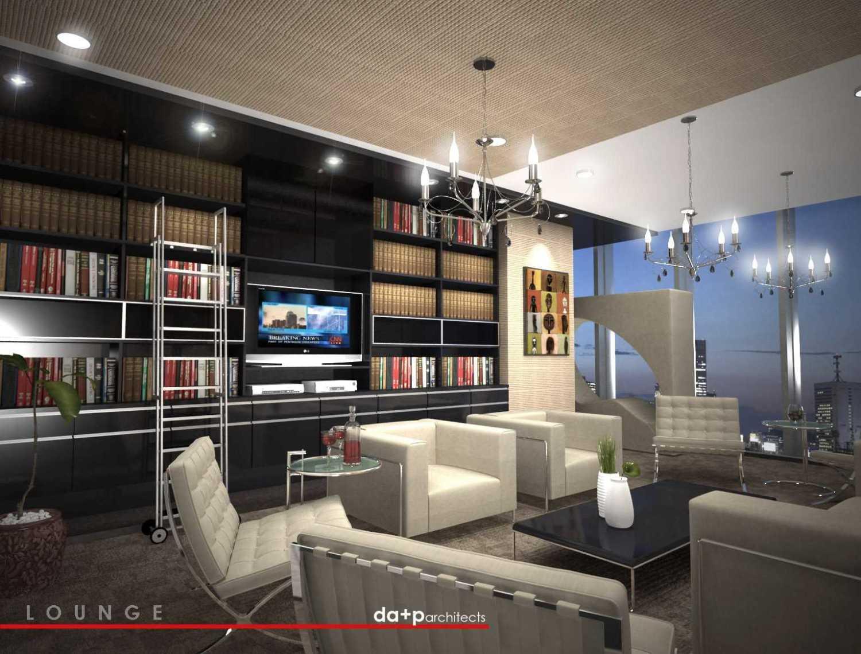 Foto inspirasi ide desain perpustakaan kontemporer Vip lounge + library oleh rully tanuwidjaja di Arsitag