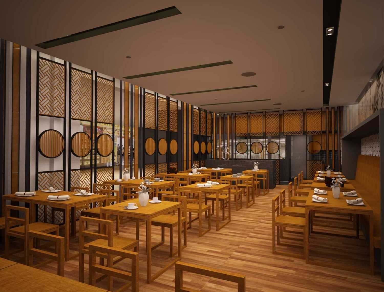 Rully Tanuwidjaja Interior Din Tai Fung Restaurant (Senayan) Plaza Arcadia Senayan, Jl. New Dhelhi, Gelora, Tanahabang, Central Jakarta City, Jakarta 10270, Indonesia  Seating Area Restaurant Kontemporer 48179