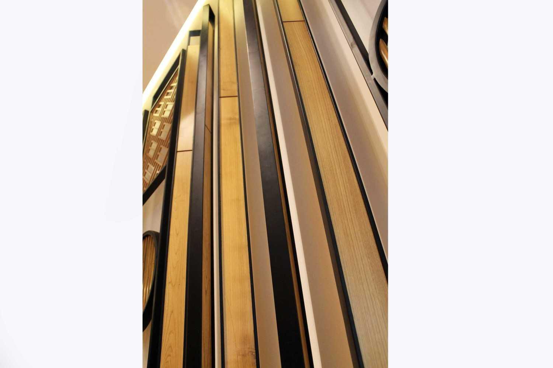 Rully Tanuwidjaja Interior Din Tai Fung Restaurant (Senayan) Plaza Arcadia Senayan, Jl. New Dhelhi, Gelora, Tanahabang, Central Jakarta City, Jakarta 10270, Indonesia  Detail-Divider-2 Kontemporer 48545
