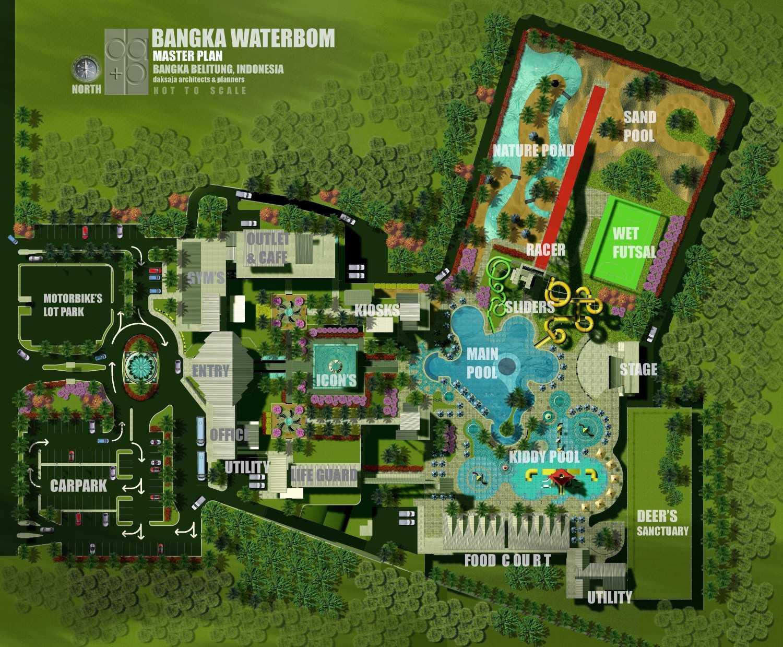 Rully Tanuwidjaja Master Plan Bangka Water Park Kabupaten Bangka Tengah, Kepulauan Bangka Belitung, Indonesia Kabupaten Bangka Tengah, Kepulauan Bangka Belitung, Indonesia Site Plan Tropis 47951