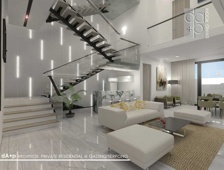 Rully Tanuwidjaja Architecture Residential Landed Ruko Glaze 2 Blok D No. 17, Jl. Boulevard Raya Gading Serpong, Klp. Dua, Tangerang, Banten 15810, Indonesia  Family Room  48285