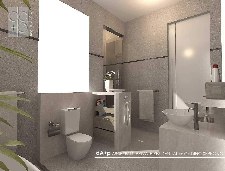 Rully Tanuwidjaja Architecture Residential Landed Ruko Glaze 2 Blok D No. 17, Jl. Boulevard Raya Gading Serpong, Klp. Dua, Tangerang, Banten 15810, Indonesia  Master Bathroom  48294