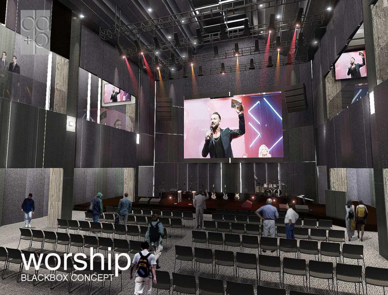 Rully Tanuwidjaja Worship Project Kuningan Bar., Mampang Prpt., Kota Jakarta Selatan, Daerah Khusus Ibukota Jakarta, Indonesia  Ground View Contemporary 48547