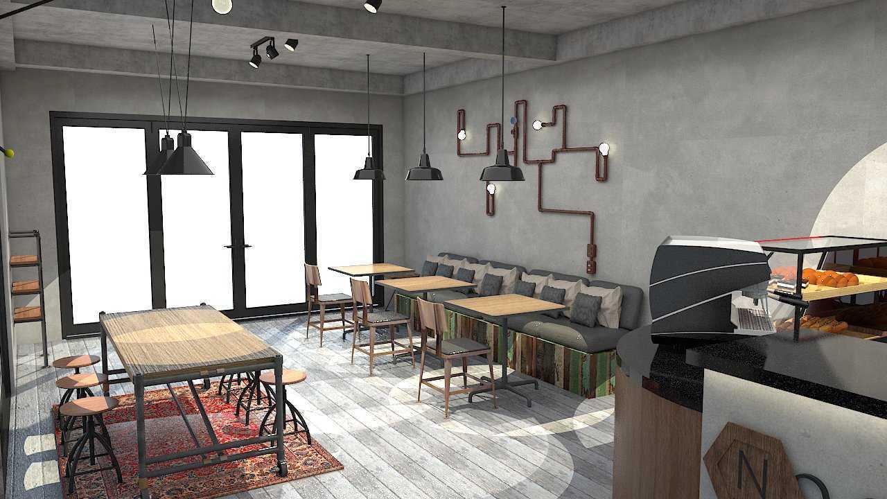 Donnie Marcellino Noct Breakfast & Lunch Grand Galaxy, Bekasi Grand Galaxy, Bekasi Seating Area Industrial 20356