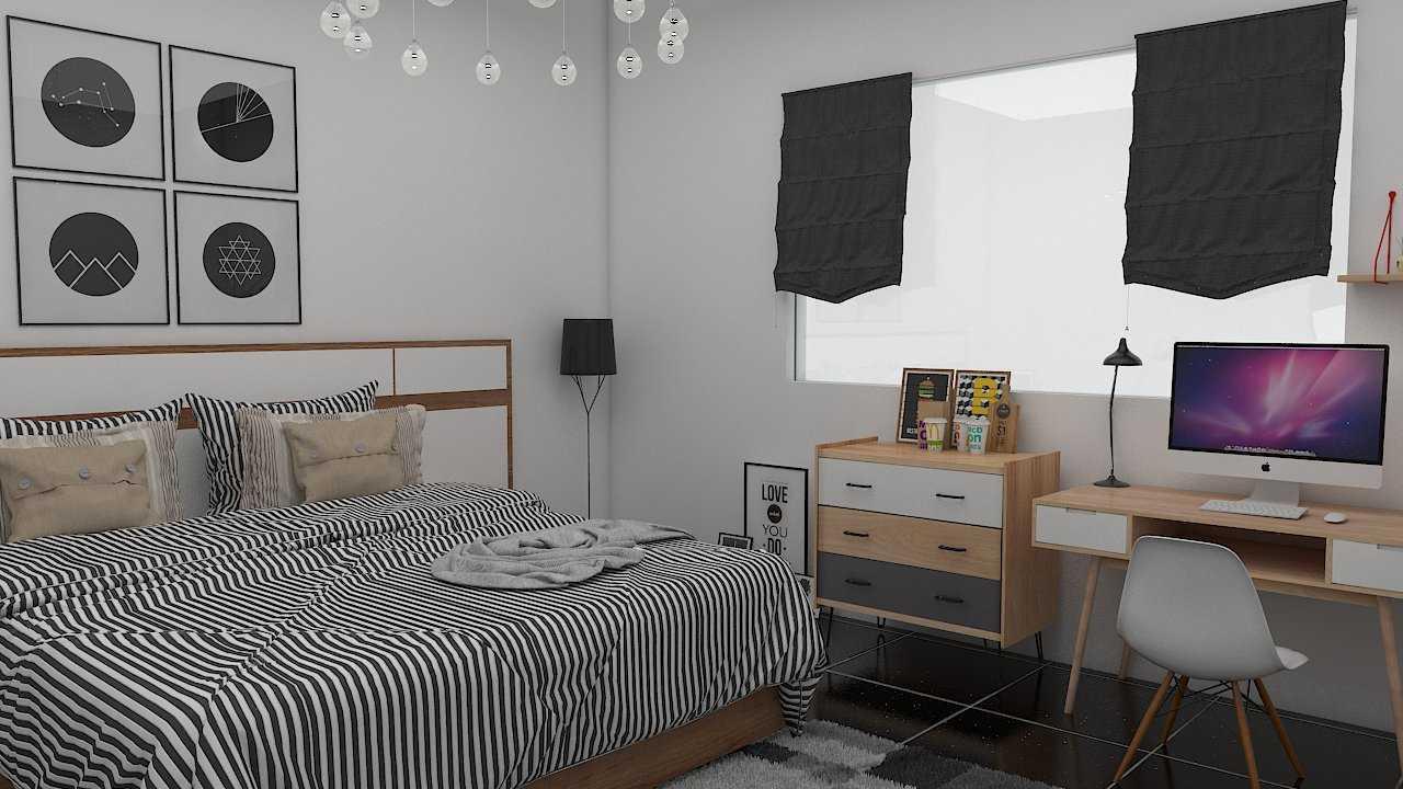 Foto inspirasi ide desain kamar tidur industrial Bedroom oleh Donnie Marcellino di Arsitag