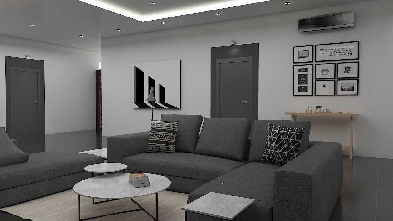 Foto inspirasi ide desain ruang keluarga industrial Livingroom oleh Donnie Marcellino di Arsitag