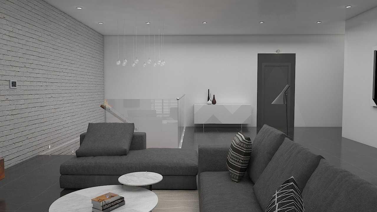 Donnie Marcellino Mr.c's House At Tomang Jakarta Jakarta Livingroom Industrial,skandinavia 21551