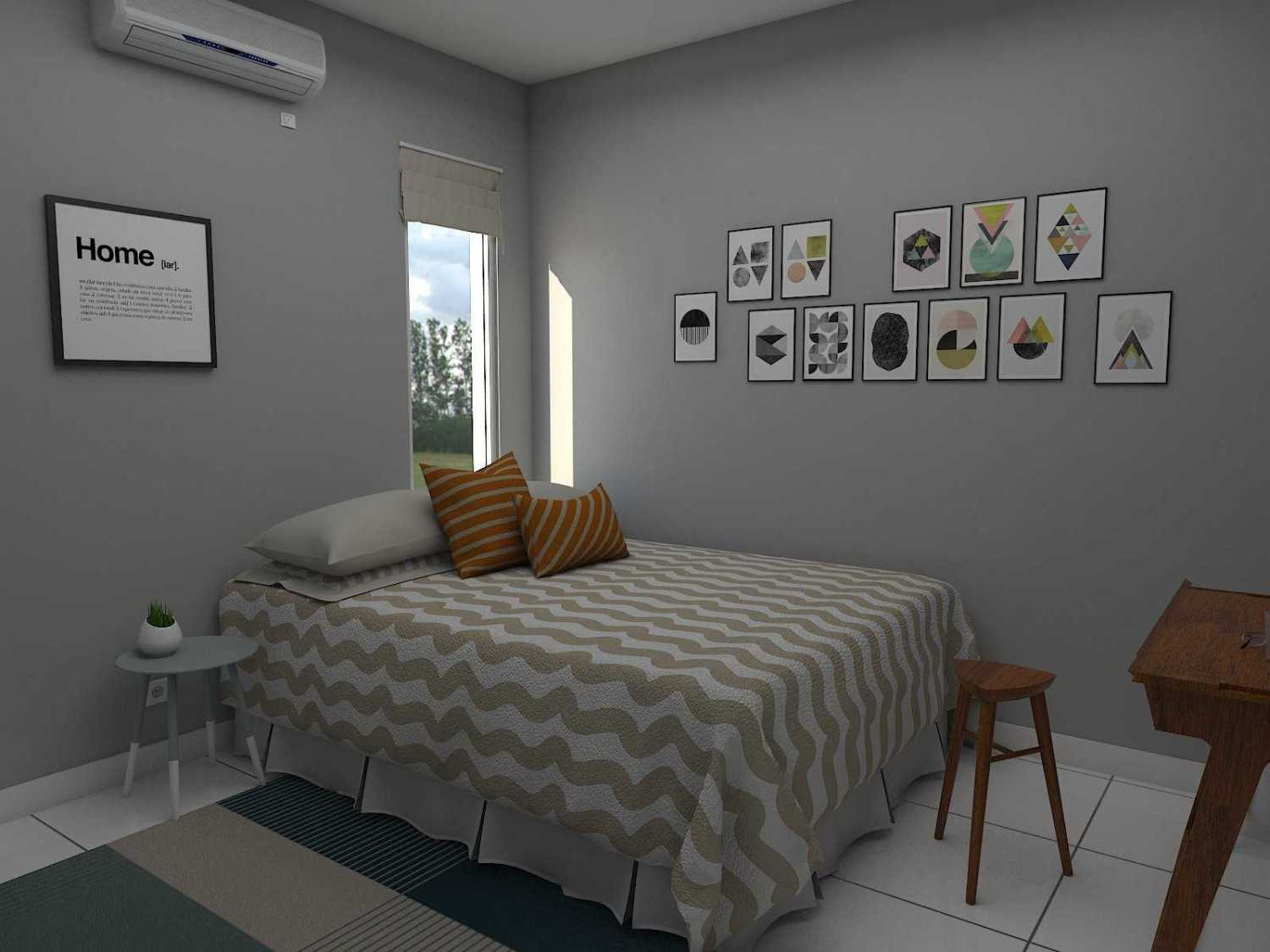 Donnie Marcellino Mr.f's House  Gg. Buntu 2, Jatimelati, Pondokmelati, Kota Bks, Jawa Barat 17415, Indonesia Guest Bedroom Design Kontemporer 30167