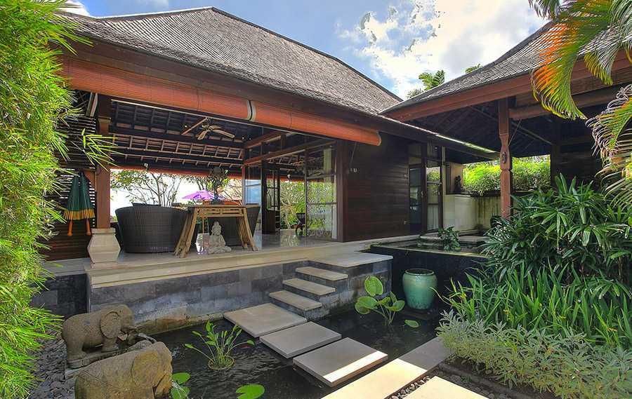 Agung Budi Raharsa Villa Indah Manis - Bali Pecatu, Bali Pecatu, Bali Bulan-Madu-Entrance-Water-Feature-1  12436