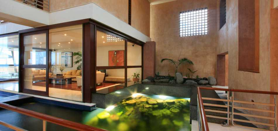 Agung Budi Raharsa | Architecture & Engineering Shark House - Bali Bali, Indonesia Ketewel, Bali Living Area  12448
