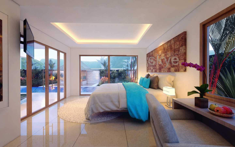 Foto inspirasi ide desain kamar tidur tropis Bedroom oleh Lalu M. Haris Iqbal - Skye Architect di Arsitag