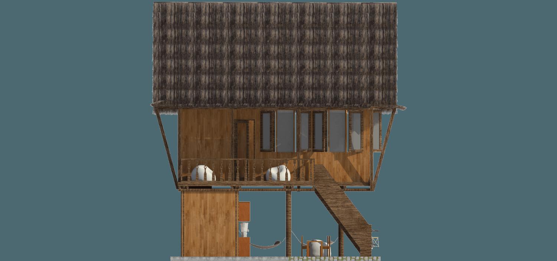 Virr Studio Rumah Tongging Homestay Lake Toba, Indonesia Lake Toba, Indonesia Tampak-Kiri Tradisional,tropis 30705