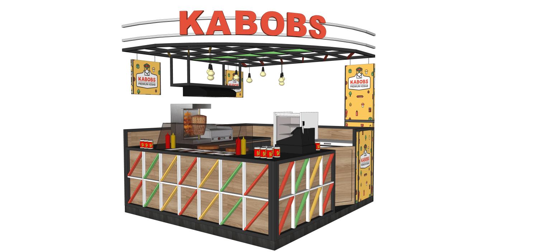 Virr Studio Kabob Premium Kebab Bandung Indah Plaza Citarum, Bandung Wetan, Bandung City, West Java 40117, Indonesia Citarum, Bandung Wetan, Bandung City, West Java 40117, Indonesia Kabobs-Booth-Design-New-03 Industrial,kontemporer,modern 36255