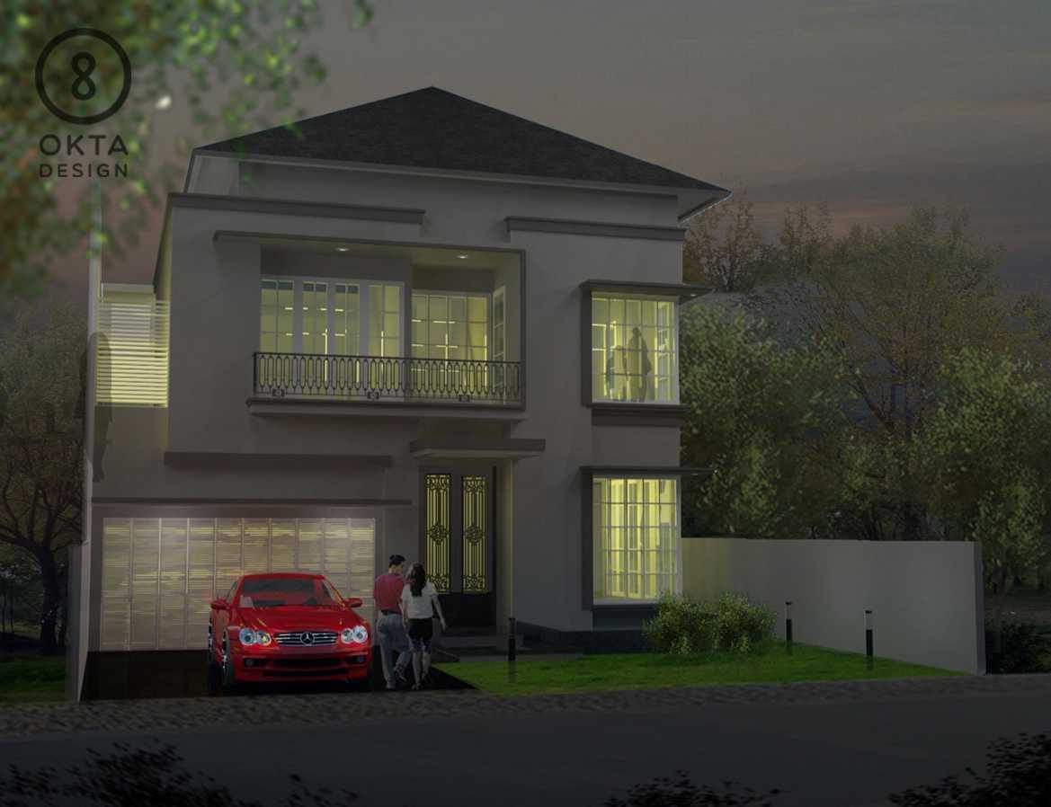 Okta Design Private House - Savron Residence Kebon Jeruk Kebon Jeruk Front View  18892