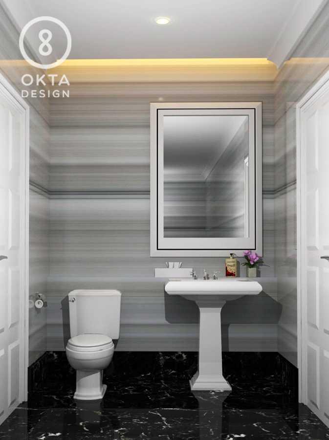 Okta Design Private House - Savron Residence Kebon Jeruk Kebon Jeruk Bathroom  18893