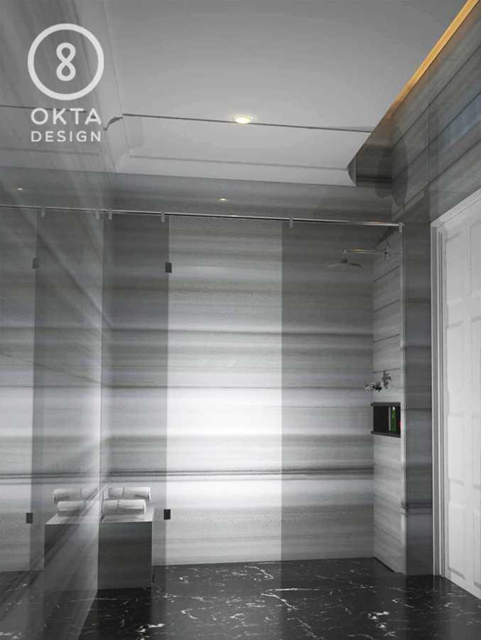Okta Design Private House - Savron Residence Kebon Jeruk Kebon Jeruk Bathroom  18895