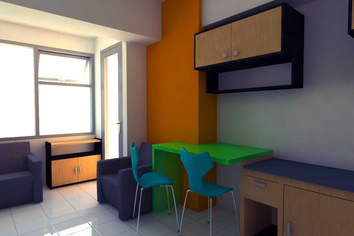 Foto inspirasi ide desain ruang belajar minimalis Study area oleh PARADES Studio di Arsitag