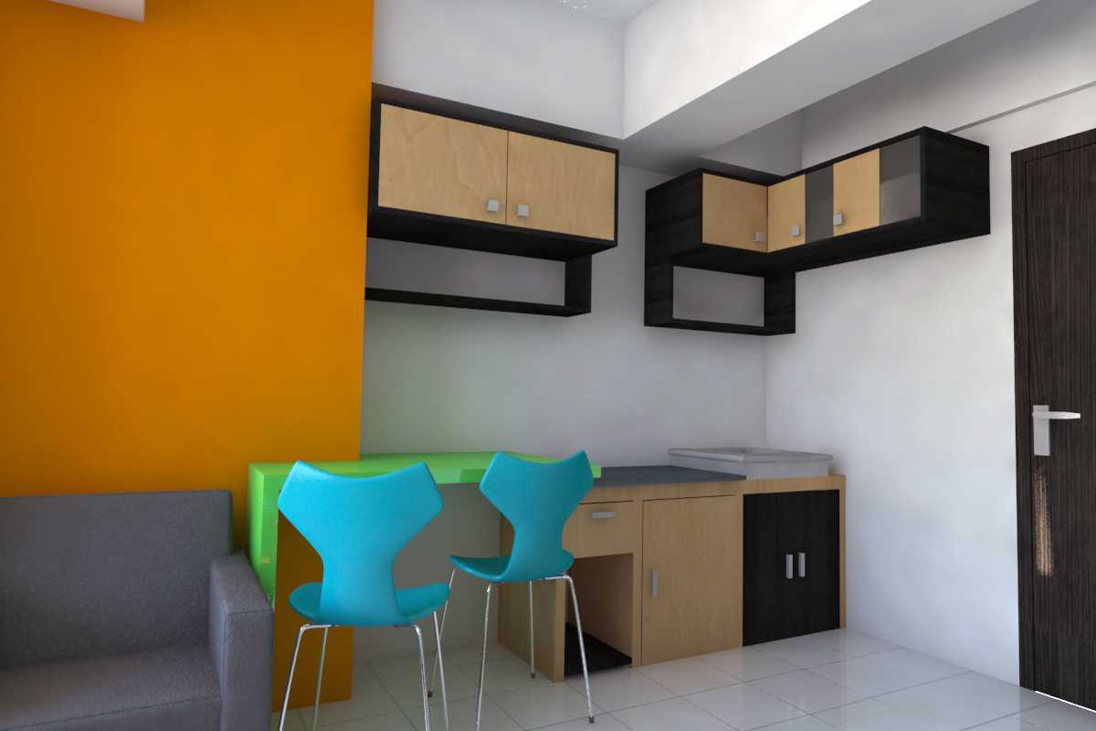 Parades Studio Interior Unit The Jarrdin Apartment Bandung-Indonesia Bandung-Indonesia Ke-Kitchen Minimalis 12355