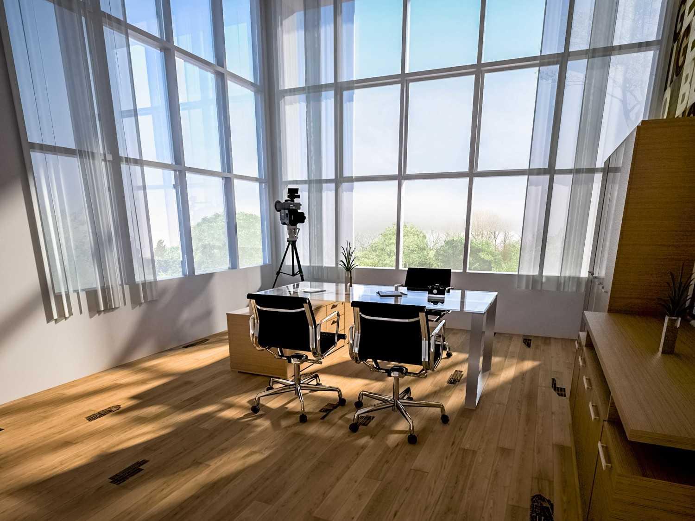Siswandiarchitect Rumah Profesi Taman Tiara, Sidoarjo Taman Tiara, Sidoarjo Ruang Kerja Modern,glass 12719