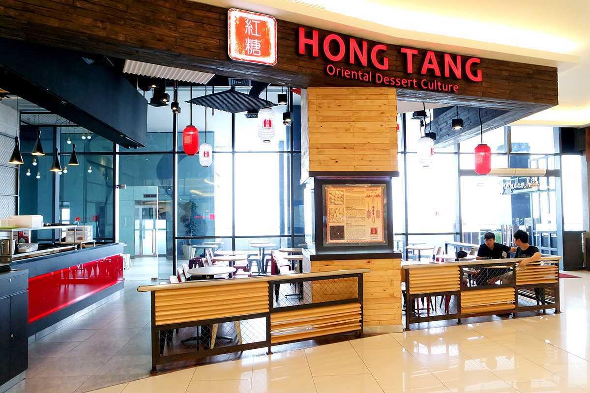 Foto inspirasi ide desain pintu masuk industrial Exterior-view-1-hong-tang-baywalk-mall oleh Evonil Architecture di Arsitag