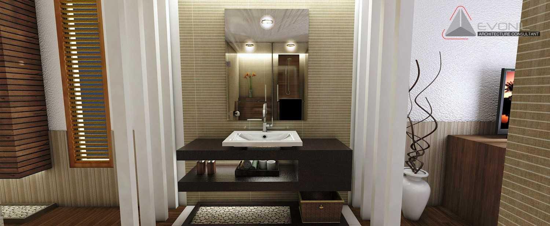 Foto inspirasi ide desain kamar mandi asian Bedroom-2nd-floor-industri oleh Evonil Architecture di Arsitag