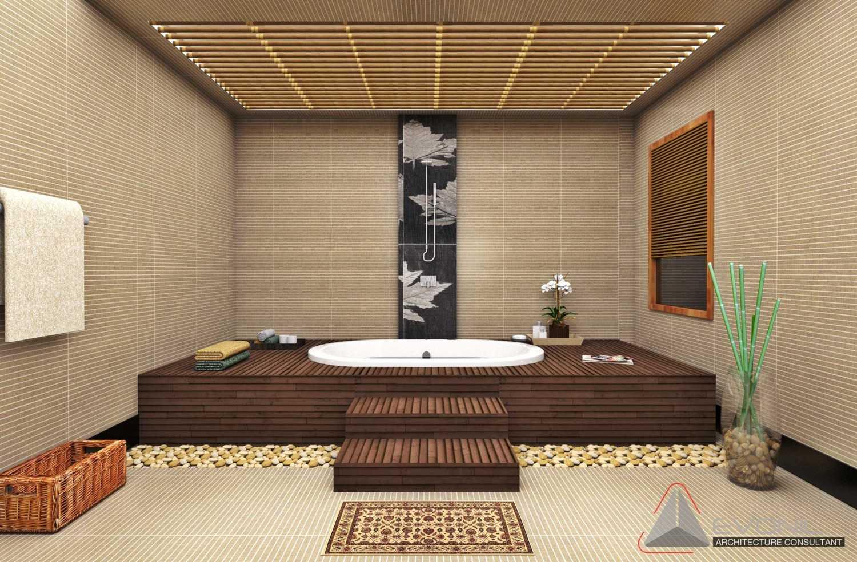 Evonil Architecture Residence Industri Jakarta, Indonesia Jakarta, Indonesia Bathroom-1St-Floor-Industri Asian 13014