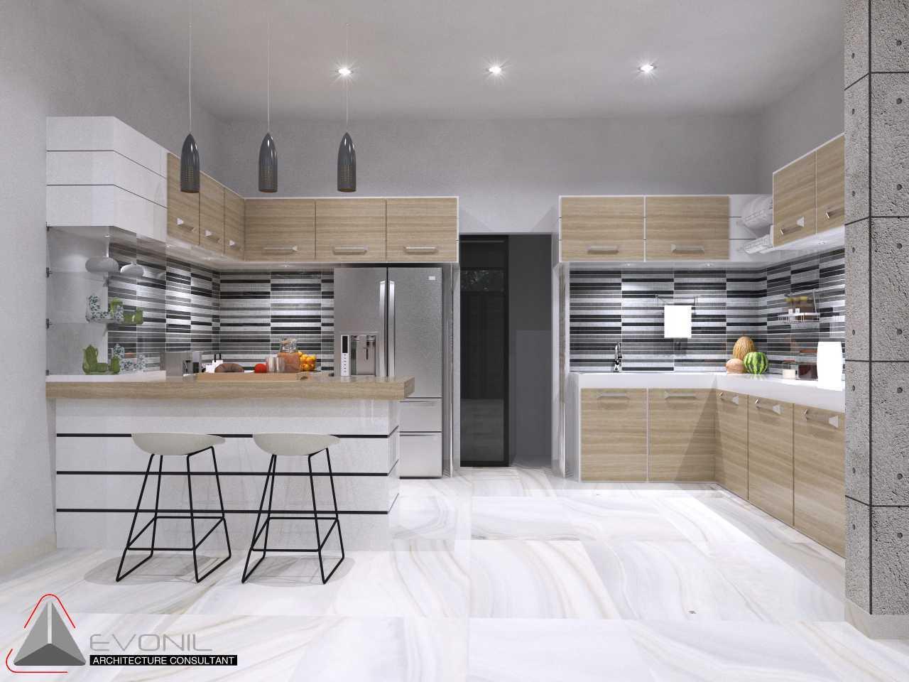 Foto inspirasi ide desain rumah asian Dapur-rev oleh Evonil Architecture di Arsitag